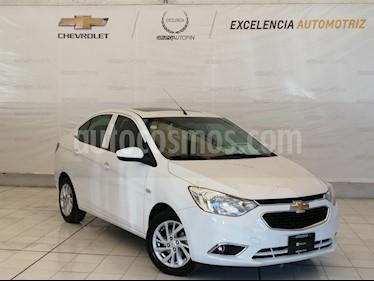 Chevrolet Aveo Paq E usado (2018) color Blanco Olimpico precio $189,000