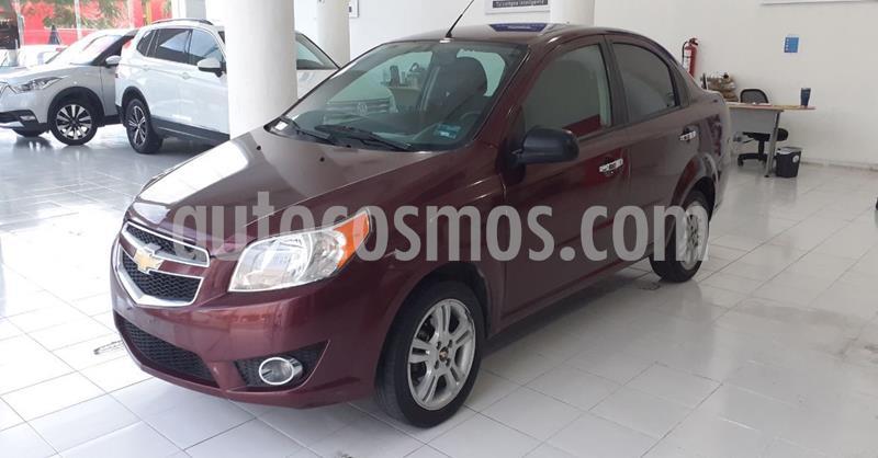 Chevrolet Aveo LTZ Aut usado (2017) color Rojo Cobrizo precio $119,900