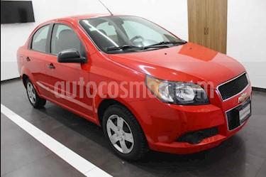 Chevrolet Aveo LS Aut usado (2014) color Rojo precio $110,000