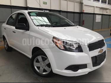 Chevrolet Aveo 4P LS L4/1.6 MAN usado (2016) color Blanco precio $125,000