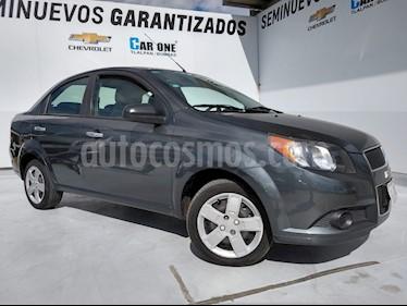Chevrolet Aveo LS (Nuevo) usado (2016) color Gris precio $125,000