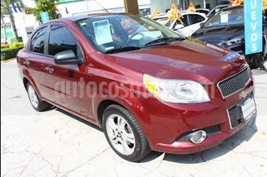 Foto Chevrolet Aveo LTZ usado (2014) color Vino Tinto precio $119,000