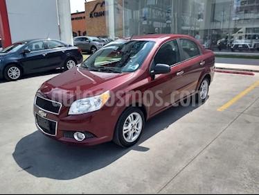 Chevrolet Aveo LTZ Aut usado (2016) color Rojo precio $115,900