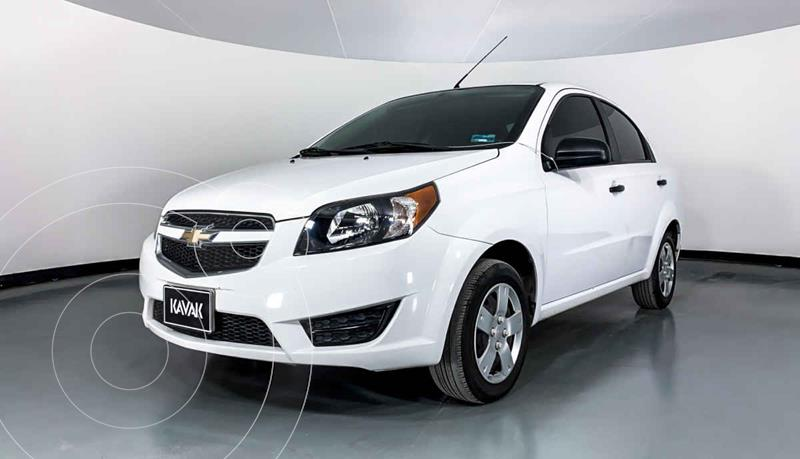 Foto Chevrolet Aveo LS Aa usado (2019) color Blanco precio $139,999