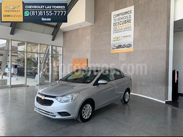 Chevrolet Aveo LS Aa usado (2018) color Plata precio $189,000