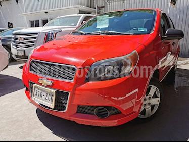 Chevrolet Aveo LS usado (2014) color Rojo Victoria precio $85,000