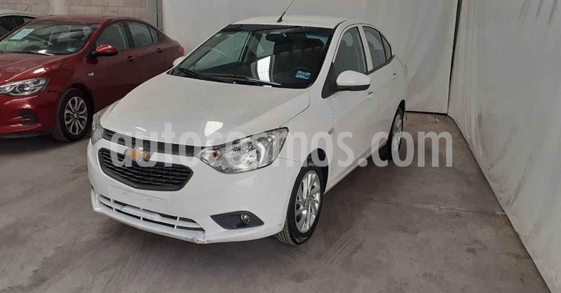 Chevrolet Aveo Paq D usado (2020) color Blanco precio $179,900