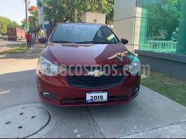 foto Chevrolet Aveo LT Aut usado (2019) color Rojo precio $185,000