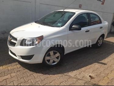 Chevrolet Aveo 4P LS L4/1.6 MAN usado (2018) color Blanco precio $160,000