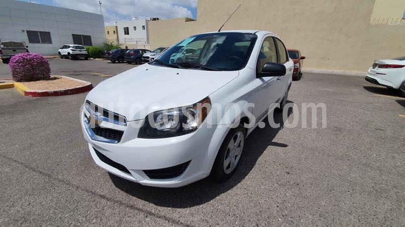 Chevrolet Aveo LT Aut usado (2017) color Blanco precio $145,000