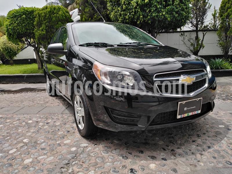 Chevrolet Aveo LS usado (2017) color Negro precio $125,000