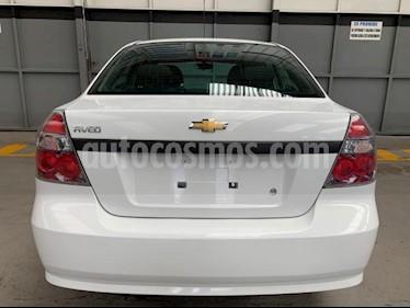 Chevrolet Aveo 4P LS AT A/AC. R-14 usado (2018) color Blanco precio $155,000