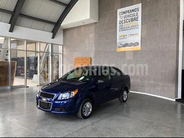 Chevrolet Aveo LS usado (2017) color Azul precio $129,000