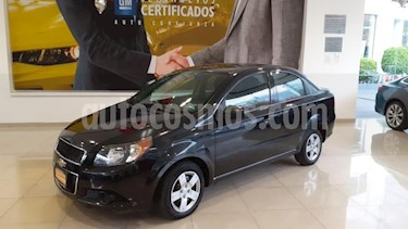 Chevrolet Aveo 4P LS TA A/AC CD R-14 usado (2015) color Negro precio $125,900