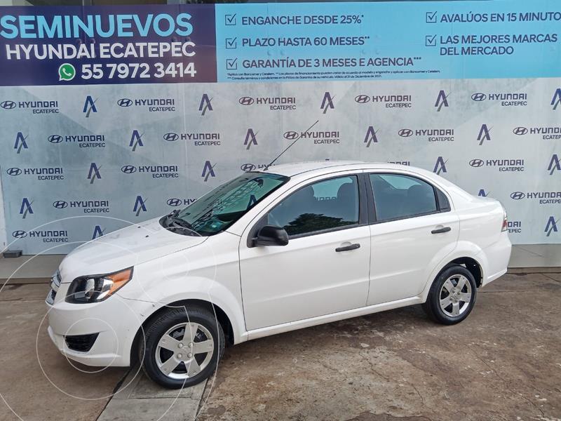 Foto Chevrolet Aveo LS usado (2018) color Blanco precio $148,900