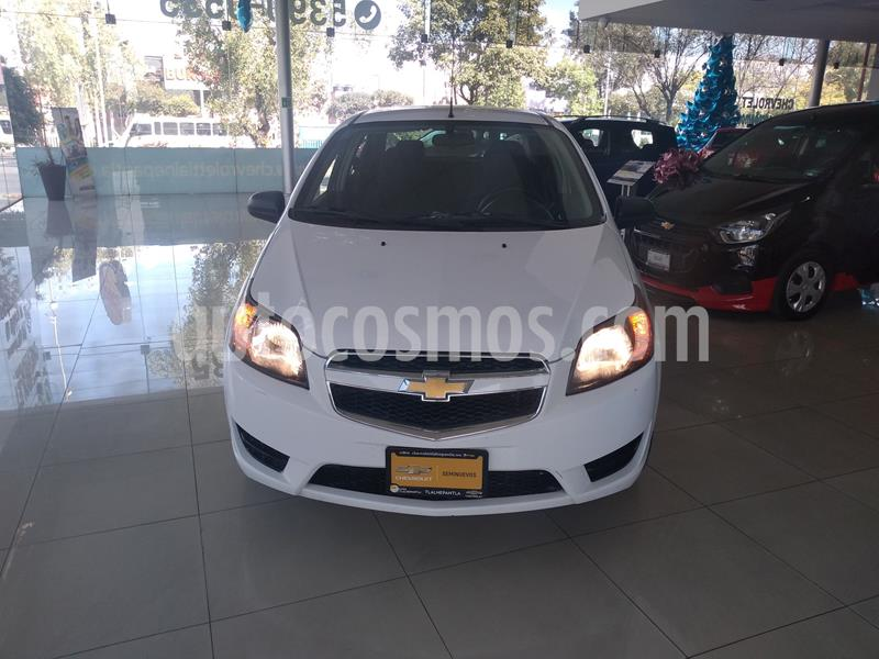 Chevrolet Aveo LT Bolsas de Aire y ABS (Nuevo) usado (2018) color Blanco precio $145,000