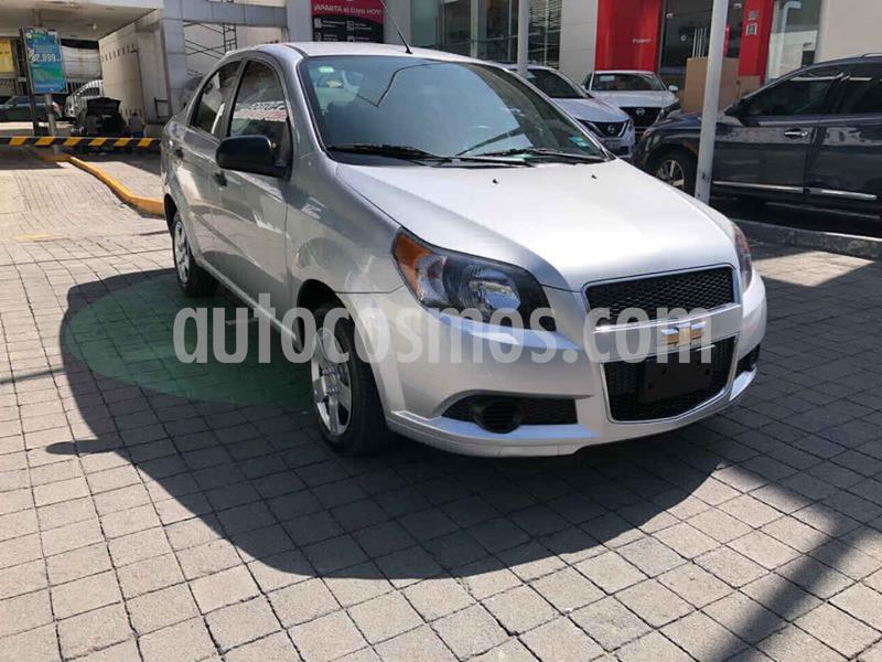 Chevrolet Aveo LT usado (2017) color Plata precio $135,000