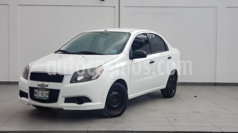 Chevrolet Aveo LS usado (2015) color Blanco precio $95,000