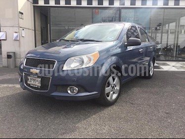 Chevrolet Aveo Paq D usado (2012) color Azul precio $100,000