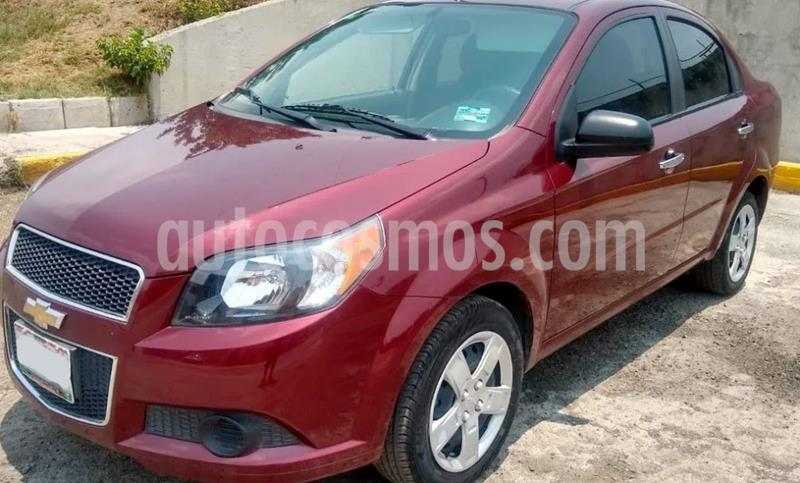 Chevrolet Aveo LT usado (2016) color Rojo precio $111,900
