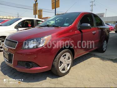 Chevrolet Aveo LT usado (2016) color Rojo Tinto precio $142,000