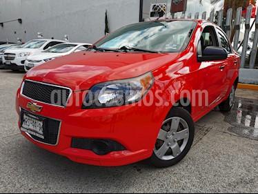 Chevrolet Aveo LS usado (2014) color Rojo precio $110,000