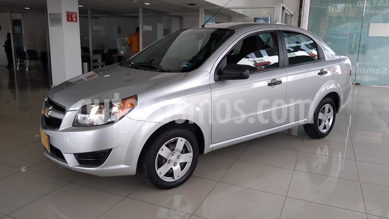 Chevrolet Aveo LS usado (2017) color Plata precio $130,000