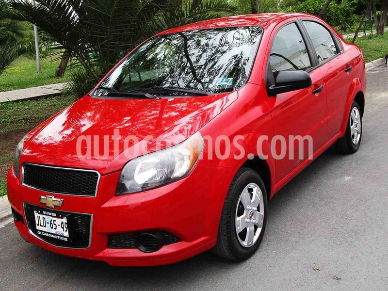 Foto Chevrolet Aveo LS Aa usado (2014) color Rojo precio $98,000