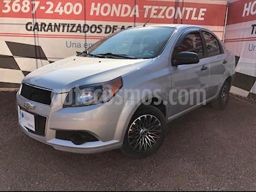 Chevrolet Aveo LS Aa radio (Nuevo) usado (2015) color Plata precio $105,000