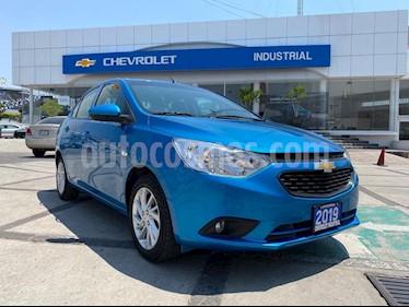 Chevrolet Aveo LTZ Bolsas de Aire y ABS Aut (Nuevo) usado (2019) color Azul Metalico precio $195,000