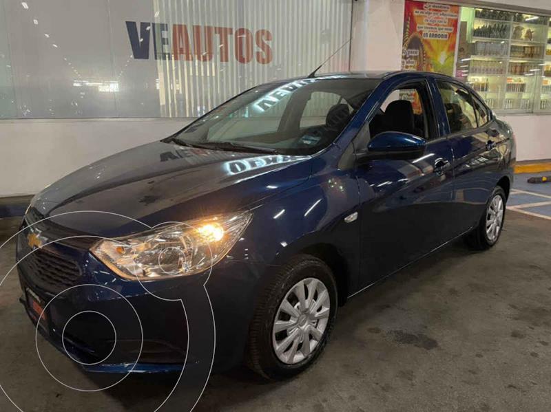 Foto Chevrolet Aveo Paq A usado (2020) color Azul precio $168,000