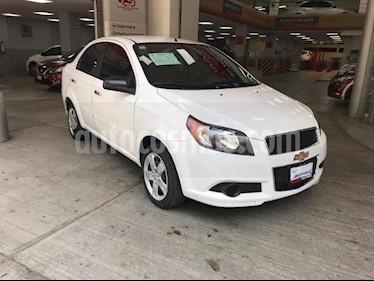 Chevrolet Aveo 4P LT L4/1.6 MAN usado (2016) color Plata precio $155,000