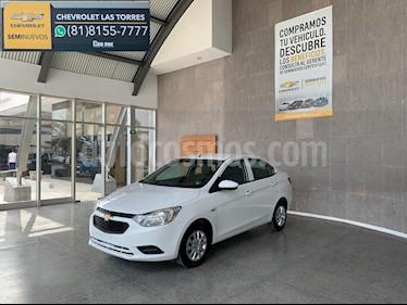 Chevrolet Aveo LS Aa usado (2018) color Blanco precio $189,000