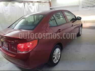 Foto Chevrolet Aveo LTZ Aut usado (2018) color Rojo Victoria precio $185,900