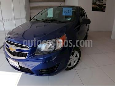 Chevrolet Aveo LS Aut usado (2017) color Azul precio $135,000