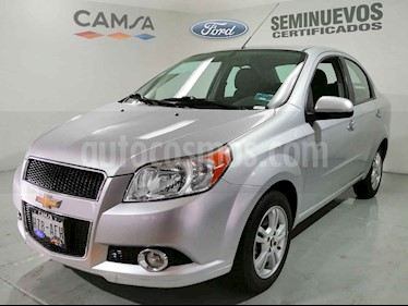 Chevrolet Aveo LTZ Aut usado (2015) color Plata precio $128,900