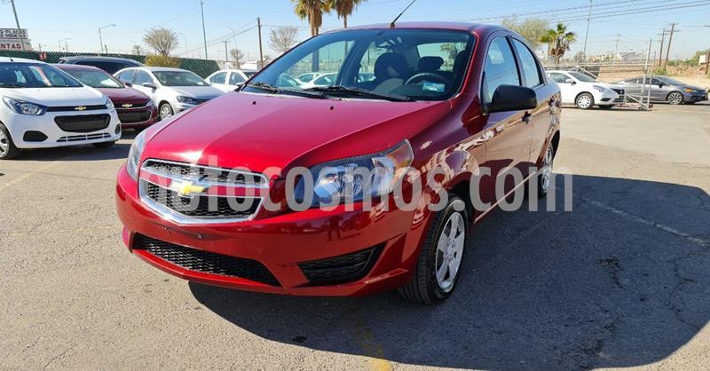 Chevrolet Aveo LS Aa usado (2018) color Rojo precio $134,900