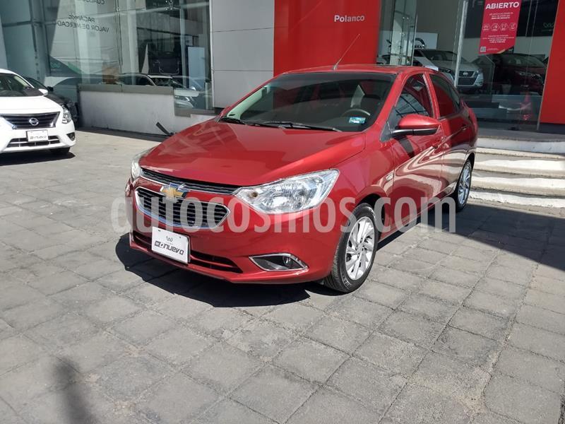 Chevrolet Aveo LTZ usado (2018) color Rojo precio $175,000