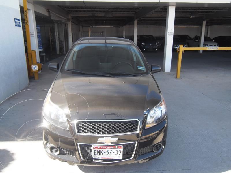 Chevrolet Aveo LTZ usado (2017) color Negro precio $129,000