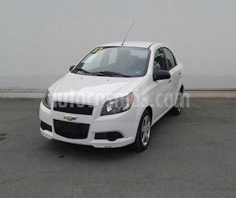 Foto Chevrolet Aveo LT Aut usado (2017) color Blanco precio $140,000
