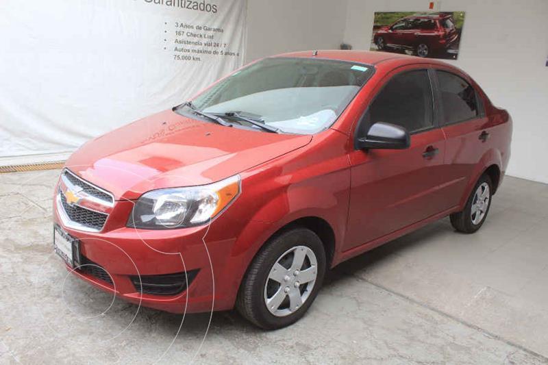Foto Chevrolet Aveo LS Aut usado (2018) color Rojo precio $169,000