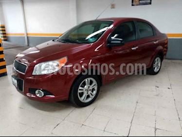 Foto Chevrolet Aveo LT usado (2014) color Rojo precio $129,000