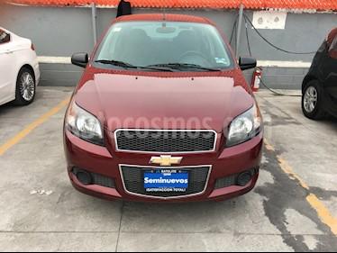 Chevrolet Aveo LT Aut usado (2015) color Rojo Tinto precio $119,000