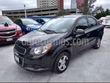 Chevrolet Aveo 4p LS L4/1.6 Man usado (2014) color Negro precio $88,000