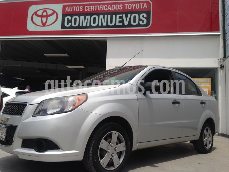 Chevrolet Aveo LS Aa usado (2015) color Blanco precio $90,000