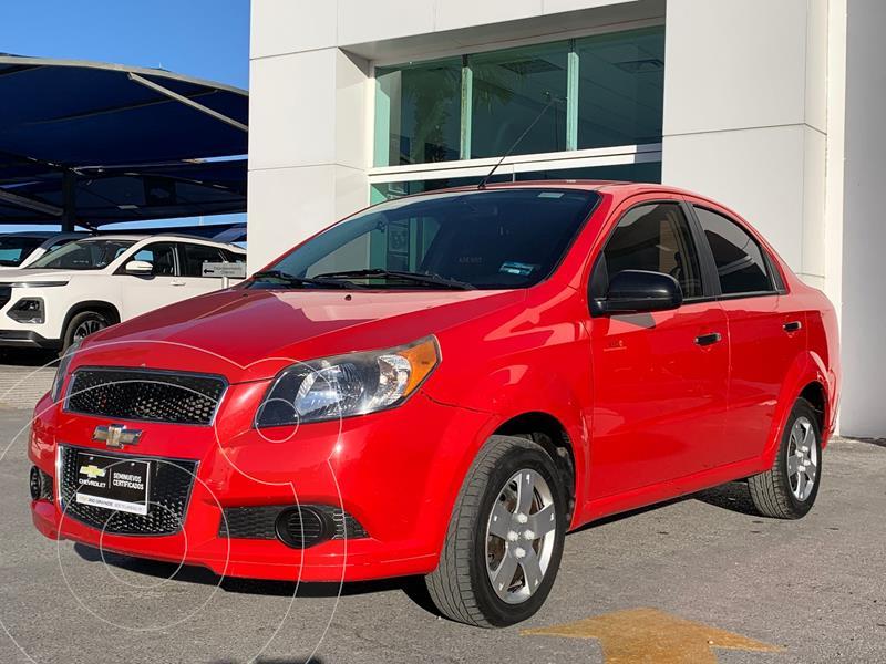 Foto Chevrolet Aveo LS Aa usado (2016) color Rojo precio $149,500