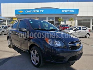 Chevrolet Aveo LT usado (2018) color Azul Acero precio $174,000