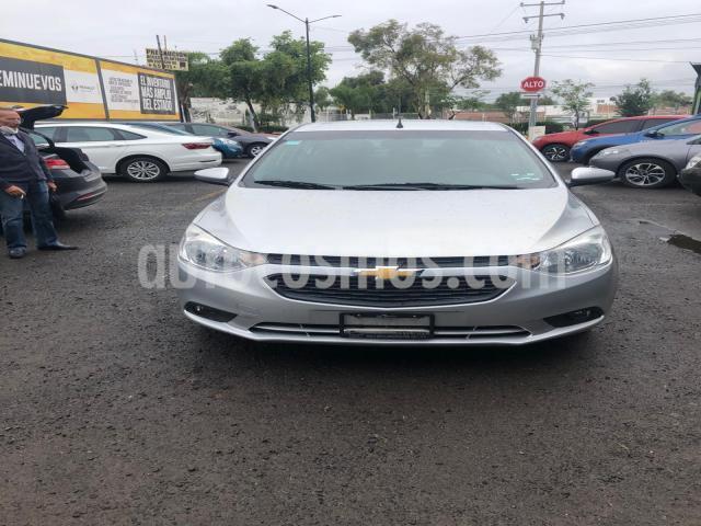 Chevrolet Aveo 4P LT L4/1.5 AUT. LINEA NUEVA usado (2018) color Plata precio $180,000