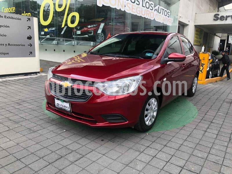 Chevrolet Aveo LS usado (2019) color Rojo precio $169,000