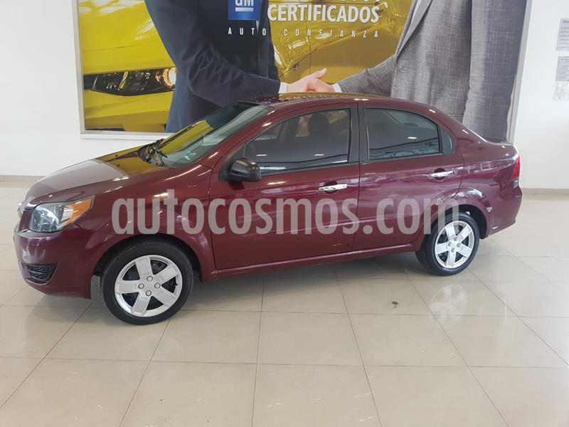 Chevrolet Aveo LT Aut usado (2017) color Rojo precio $139,900